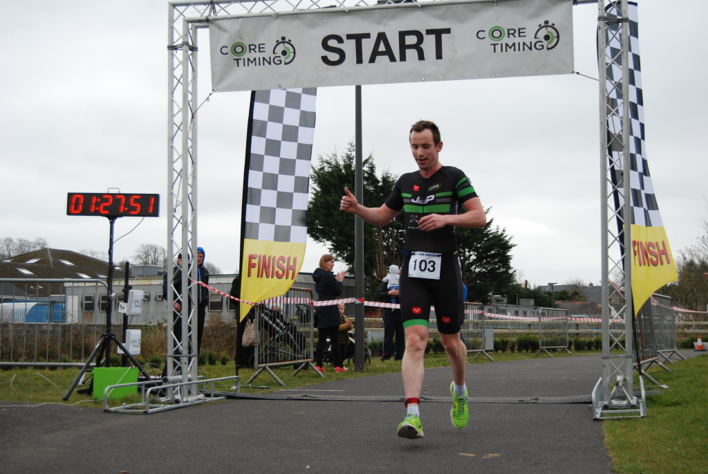 Winner Castlebar Duathlon 2016 Peter Tuohy J2P