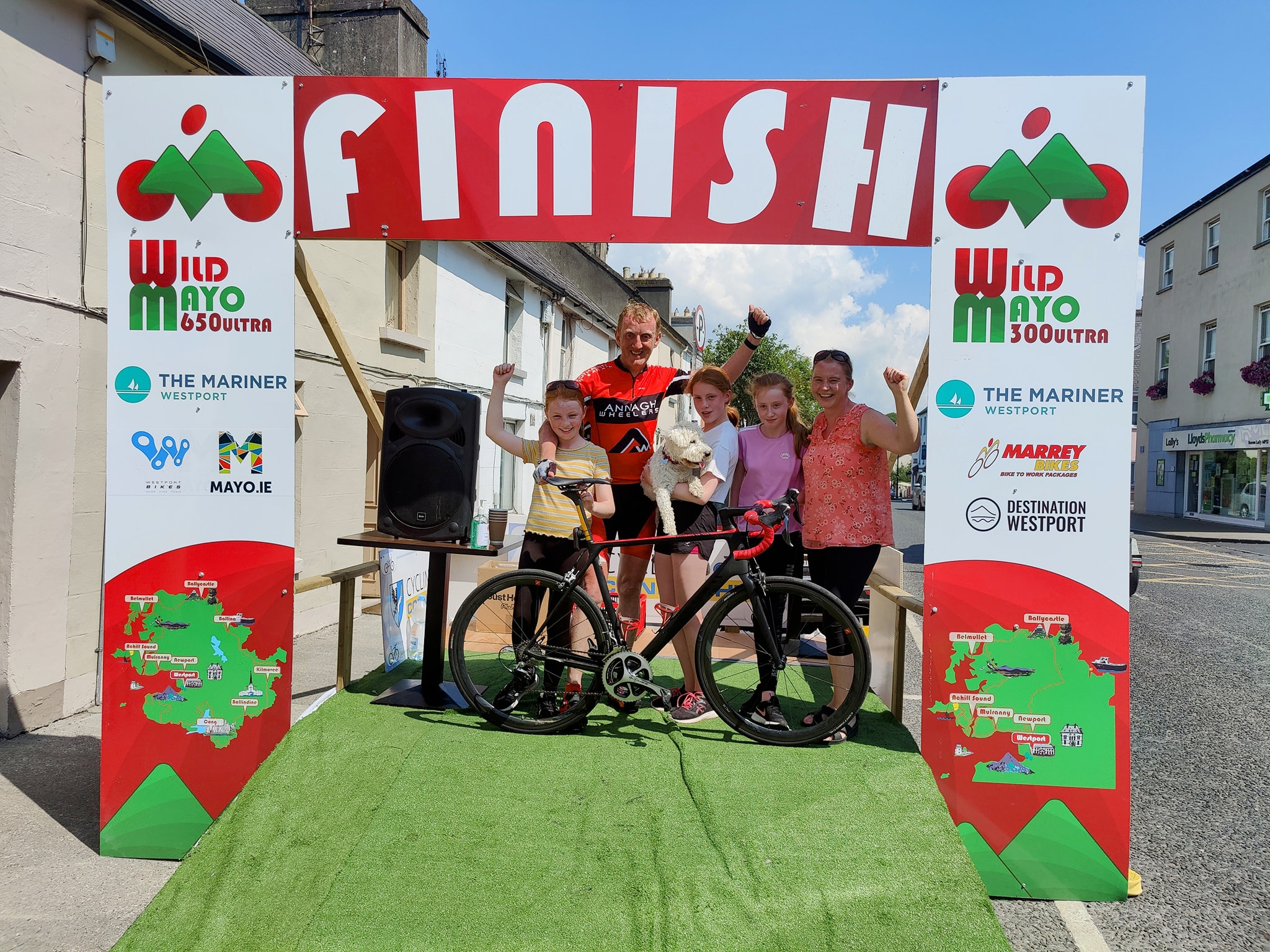 Wild Mayo Ultra Finish Line