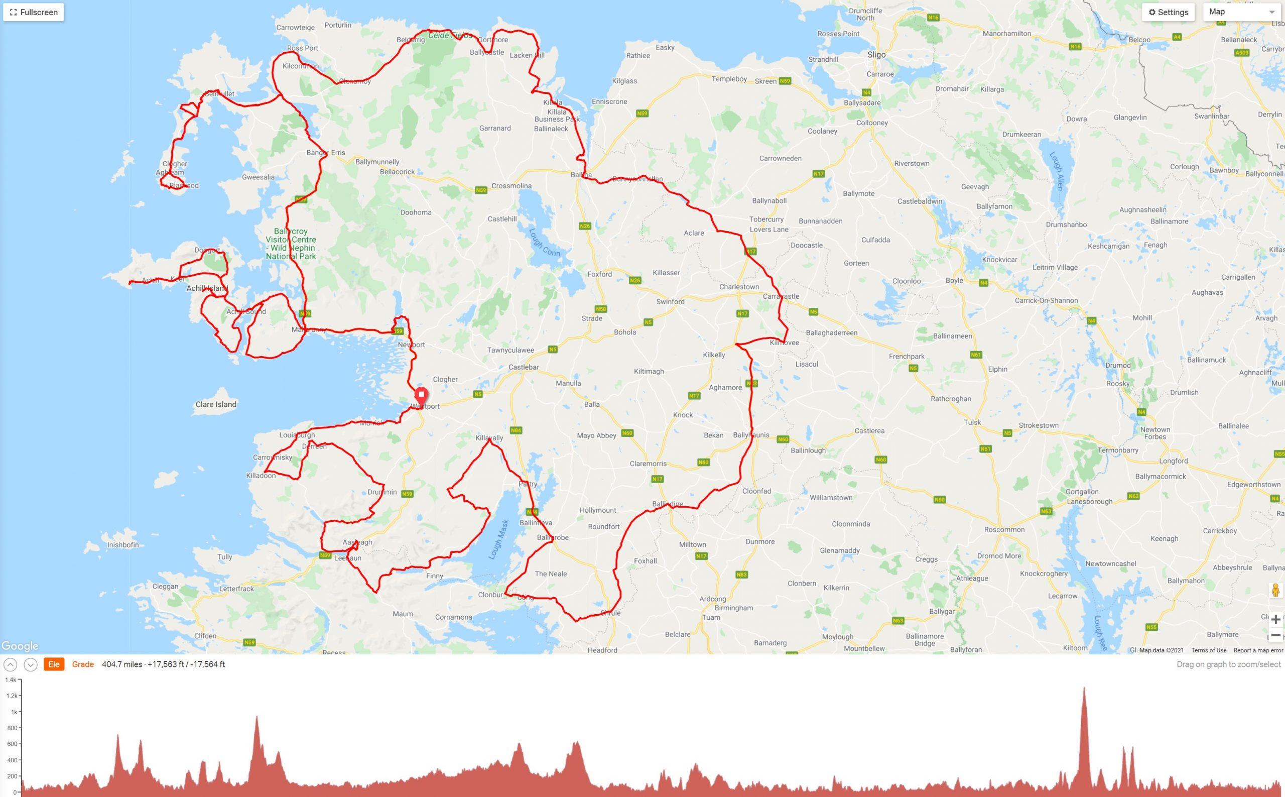 Ultra 650 Route
